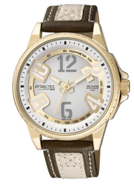 Q&Q DA66J104Y ATTRACTIVE pánske hodinky