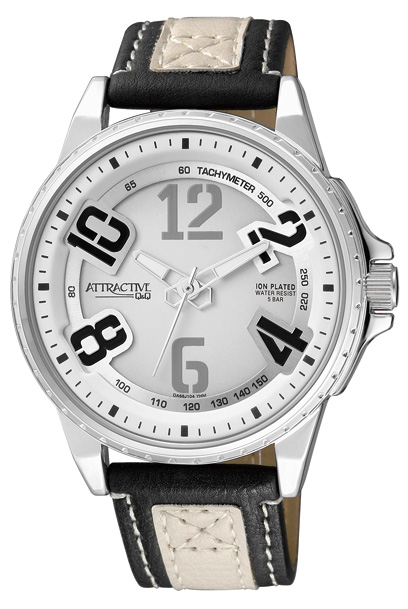 Q&Q DA66J304Y ATTRACTIVE pánske hodinky