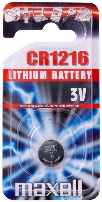 Batéria Maxell CR1216 1PC 100885-