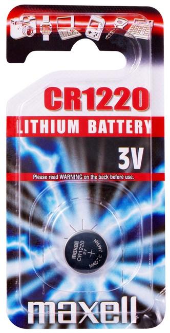 Batéria Maxell CR1220 1PC 100884-