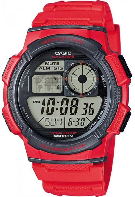 CASIO AE 1000W-4A World Time na potápanie