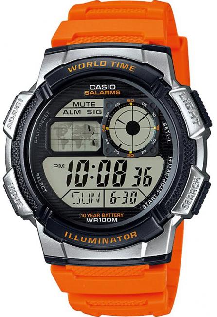 CASIO AE 1000W-4B - pánske hodinky Casio  6daf0ce09bb