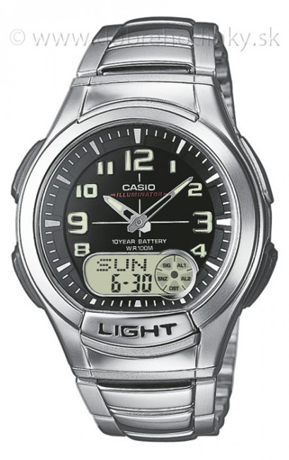 CASIO AQ 180D-1B Collection
