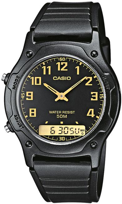 Casio AW 49-1B Duálny čas