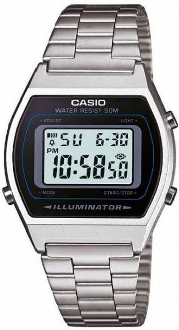 CASIO B 640WD-1A svetelný ALARM