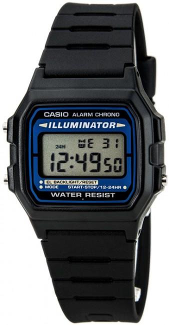 Casio F 105 Alarm - Stopky - Kalendár
