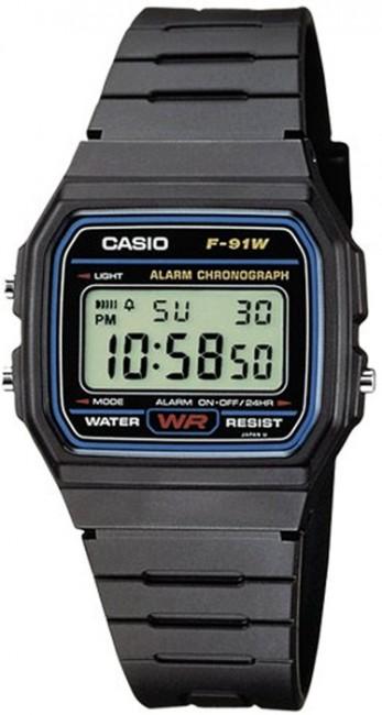 CASIO F 91-1 Kalendár Stopky Alarm