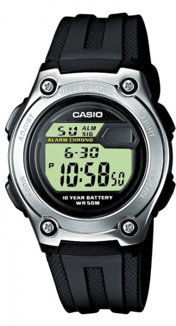 Casio W 211-1A Collection Dual Time