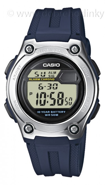 Casio W 211-2A Collection Dual Time