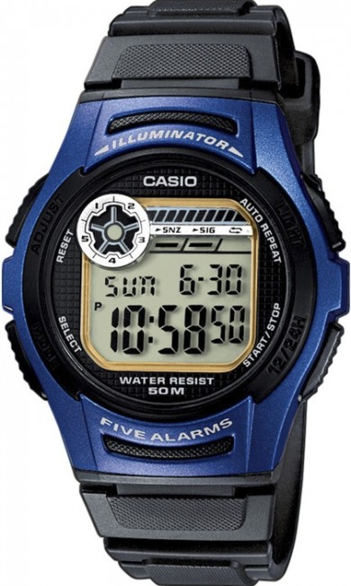 Casio W 213-2A Collection Dual Time