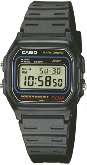 CASIO W 59-1 Stopky Alarm Kalendár