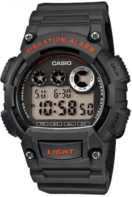 CASIO W 735H-8A Collection Dual Time Vibration Alarm na potápanie