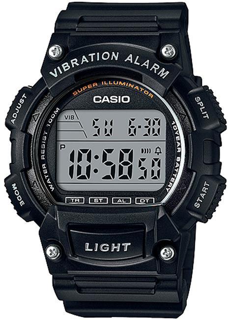 CASIO W 736H-1A Vibration Alarm na potápanie