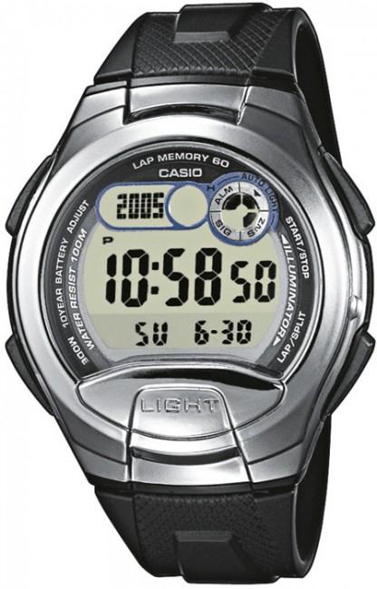 CASIO W 752-1A Collection Dual Time 4 Alarmy na potápanie