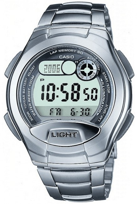 CASIO W 752D-1 Collection Dual Time 4 Alarmy 10ATM