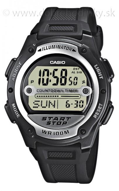 Casio W 756-1A Svetové časy Alarm na potápanie