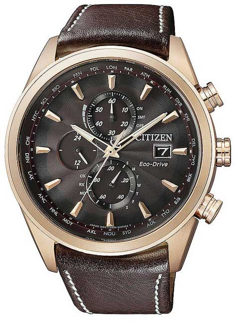 Citizen AT8019-02W Eco-Drive Radio Controlled
