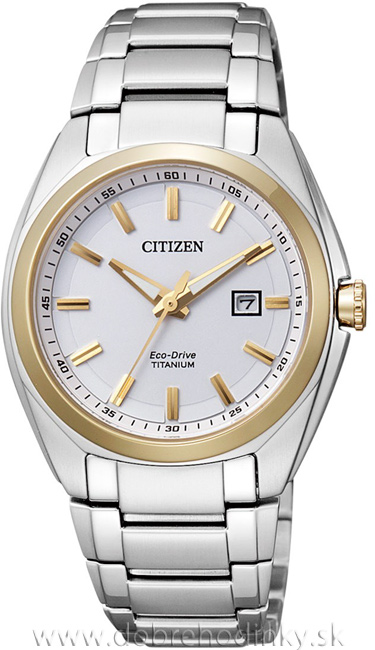Citizen EW2214-52A Eco-Drive Titanium