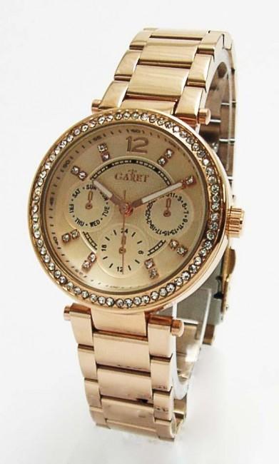 GARET 119718MD Fashion dámske hodinky s oceľovým remienkom 57ec491791