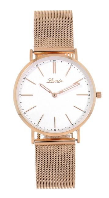 Hodinky LUMIR 111345ME dámske hodinky s oceľovým remienkom ... 4300817822