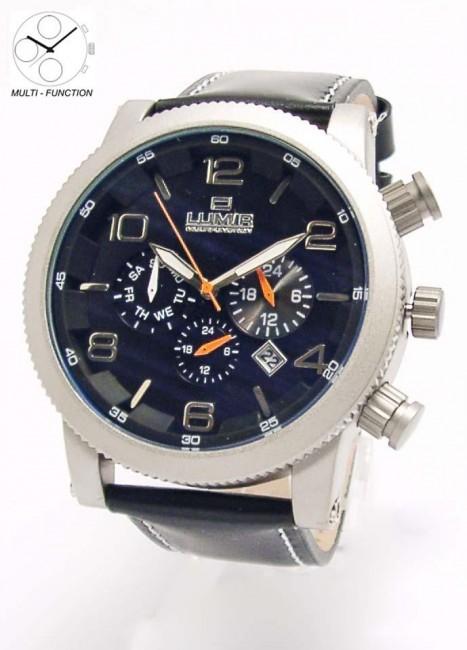 Hodinky LUMIR 111313C pánske hodinky s multifunkčným dátumom