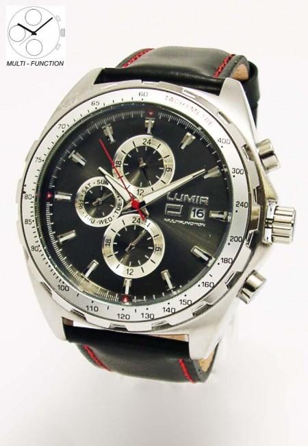 Hodinky LUMIR 111316Š pánske hodinky s multifunkčným dátumom