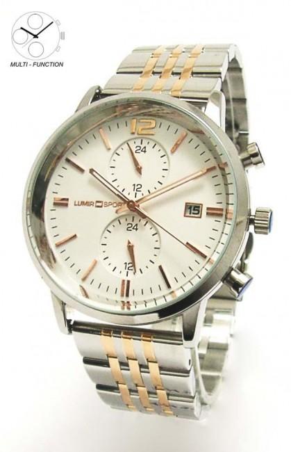 Hodinky LUMIR 111319 pánske hodinky s multifunkčným dátumom