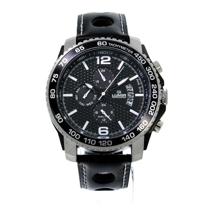 Hodinky LUMIR 111324B pánske hodinky s multifunkčným dátumom
