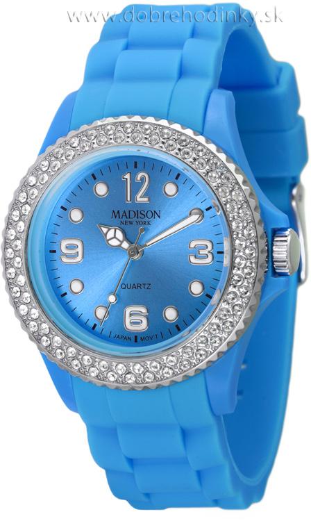 Madison New York U4101L silikónové-so Swarovski crystals