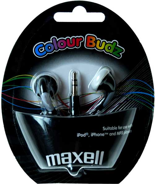 Maxell - sluchátka do uší - Darček nad 50.- €