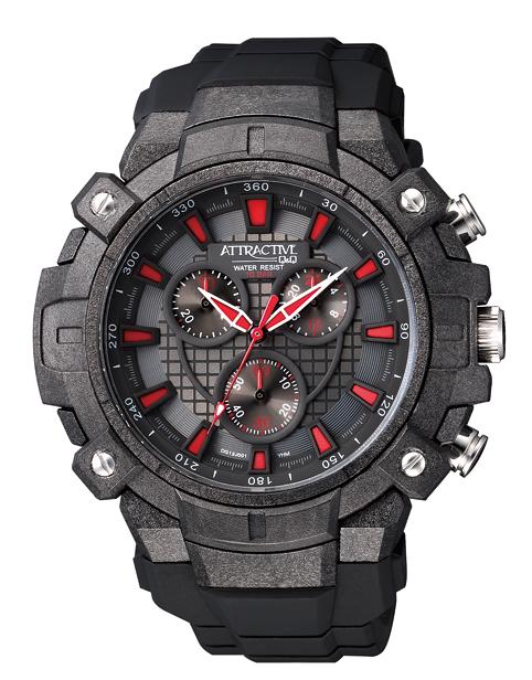 Q&Q DG12J001Y pánske hodinky chronograf