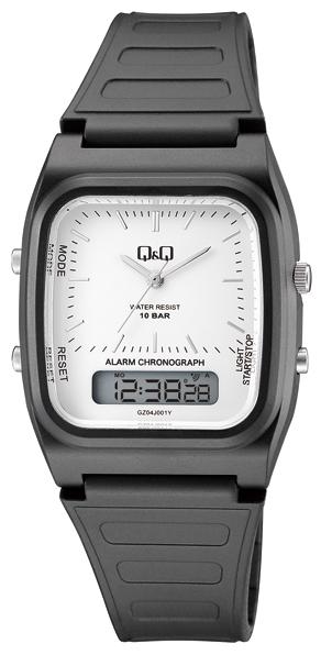 Q&Q GZ04J001Y Alarm Chronograf 10 BAR