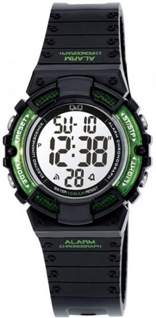 Q&Q M138J001Y Alarm Chronograf na potápanie