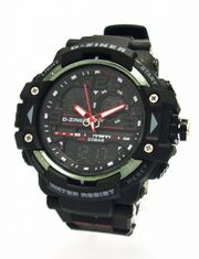 D-ZINER 1122081R pánske športové hodinky 10 Bar