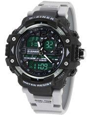 D-ZINER 112208B pánske športové hodinky 10 Bar