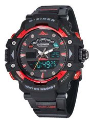 D-ZINER 112209K pánske športové hodinky 10 Bar