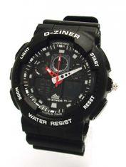 D-ZINER 112209N pánske športové hodinky 10 Bar