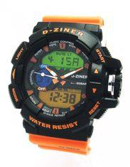 D-ZINER 112209U pánske športové hodinky 10 Bar
