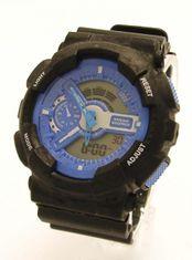 GARET 119391ČM digitálne hodinky