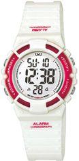 Q&Q M138J002Y digitálne hodinky 10ATM