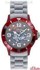 s.Oliver SO-2226-PQ silikónové hodinky