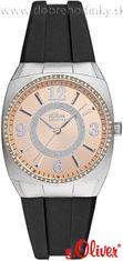 s.Oliver SO-2238-PQ silikónové hodinky