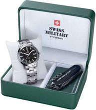Swiss Military SMP36004,01 SET pánske hodinky a nožík