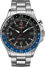 TIMEX TW2R43500 GMT 3 x INTELIGENT QUARTZ