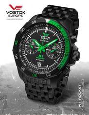 Vostok Europe 6S21/2254252B N-1 ROCKET chrono