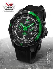 Vostok Europe 6S21/2254252S N-1 ROCKET chrono