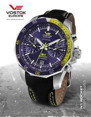 Vostok Europe 6S21/2255253 N-1 ROCKET chrono
