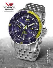 Vostok Europe 6S21/2255253B N-1 ROCKET chrono
