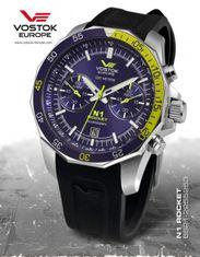 Vostok Europe 6S21/2255253S N-1 ROCKET chrono