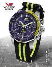 Vostok Europe 6S21/2255253T N-1 ROCKET chrono